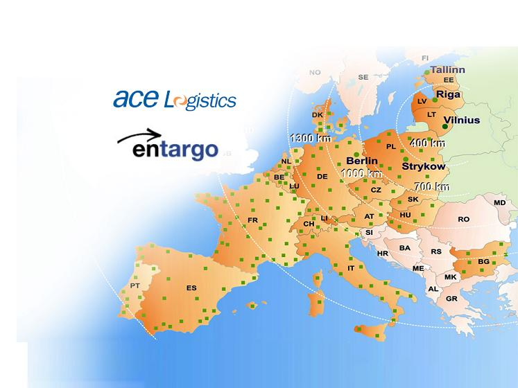 ACE wins an award for successful initiation of daily cross-European regular road haulage service