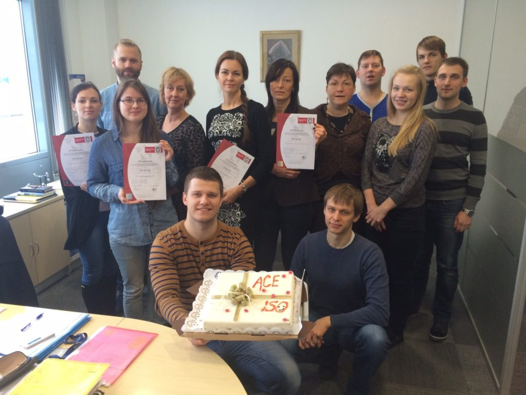 ISO quality and environment certificates acquired in Latvia